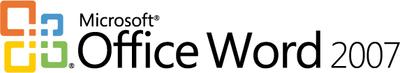 Logo Microsoft Office Word 2007